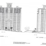 13. South & East Elevations